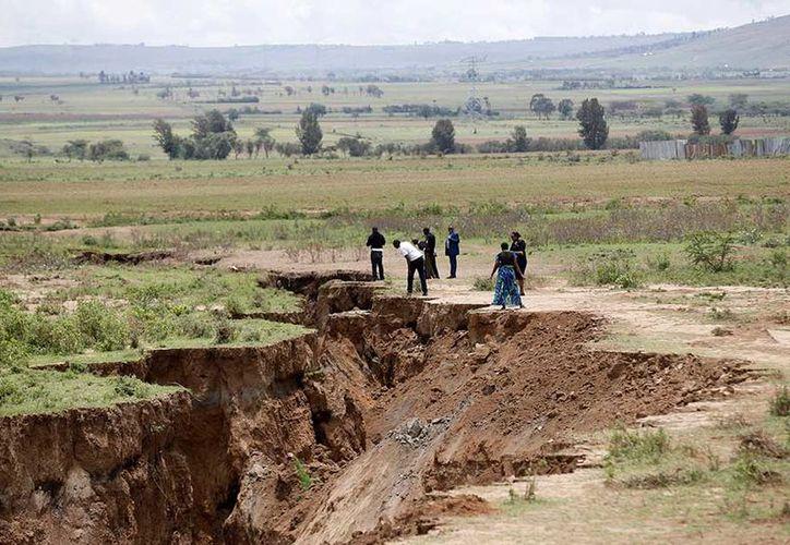 La falla está vinculada a la fractura geológica conocida como el Gran Valle del Rift. (Reuters)