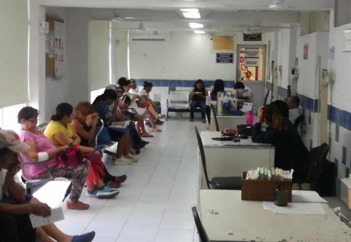Se puede observar el remozamiento de los Centros de Salud. (José Salazar/Novedades Yucatán)