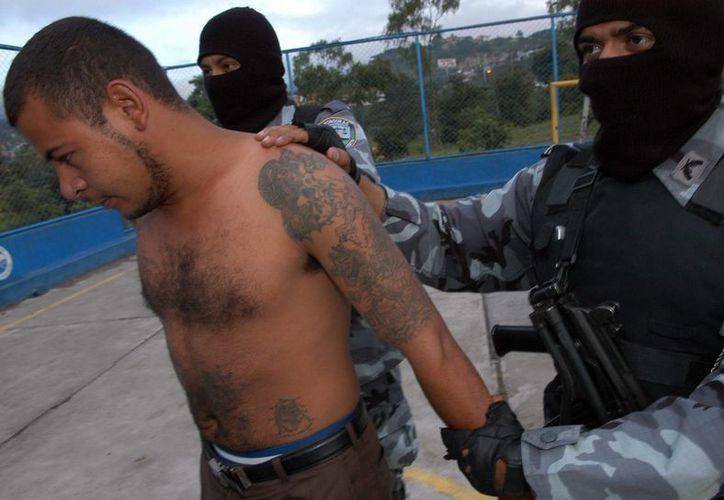 En El Salvador existen varias pandillas que se disputan diversos territorios. Una de las más grandes es la Mara Salvatrucha. (EFE/Archivo)