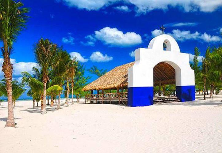 La Isla Pasión se encuentra cerca de Cozumel y es uno de los destinos favoritos para casarse. (cozumelcruiseexcursions.net)