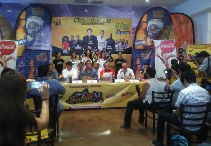 Este jueves se presentó la segunda edición del Mérida Salsa Fest, el único evento internacional dedicado a este género en el país. (José Acosta/Milenio Novedades)