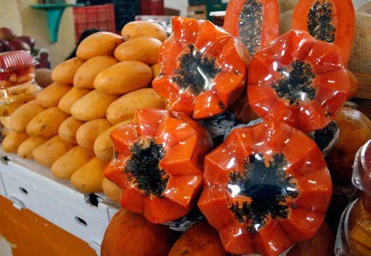 La papaya que se cultiva en Yucatán tiene alto potencial de exportación, pero se desaprovecha  la mayoría del producto. (Milenio Novedades)