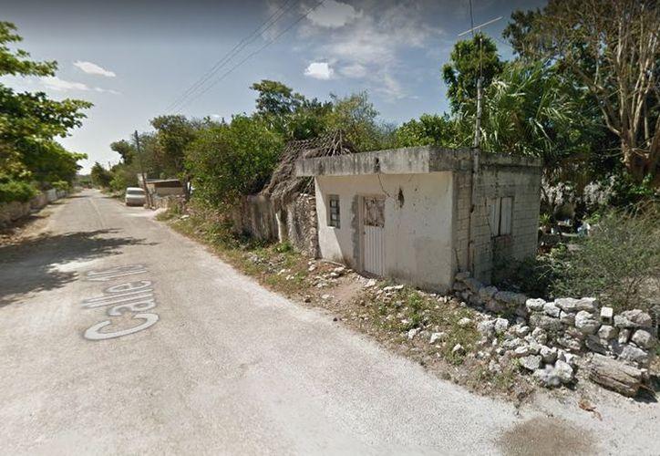 El intento de suicidio se presentó en la colonia Flores Magón de Hunucmá. (Google Maps)