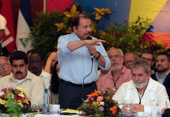 El presidente Ortega descartó resolver por medios bélicos el conflicto. (Archivo/Agencias)