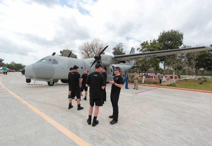 El 21 de abril se espera la visita de un avión Hércules WC130, mejor conocido como cazahuracanes. (Contexto/SIPSE)