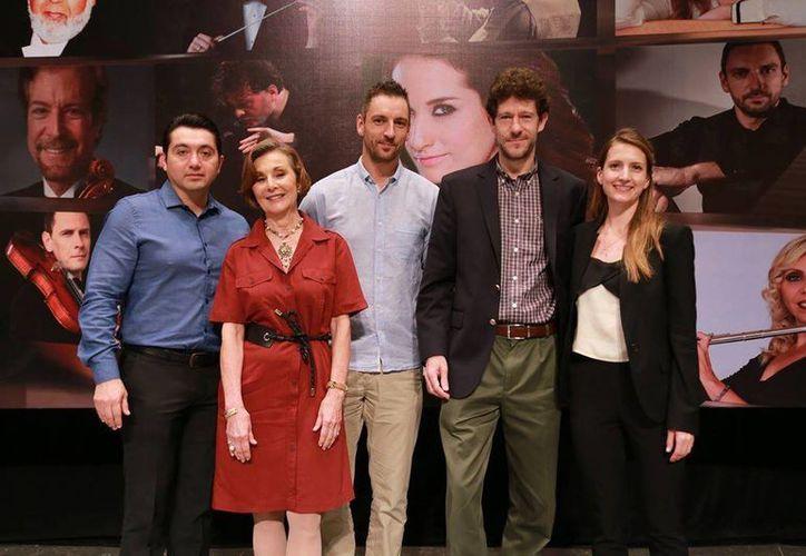 Ayer se presentó el programa de la Sinfónica de Yucatán para esta noche y el próximo domingo en el teatro José Peón Contreras. (Milenio Novedades)
