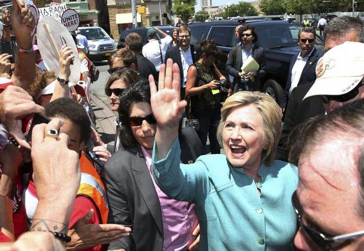 Julian Assange divulgó información 'significativa' sobre el proceso electoral en EU. Estos datos involucran directamente a la candidata demócrata Hillary Clinton. (AP/Andrew Harnik)