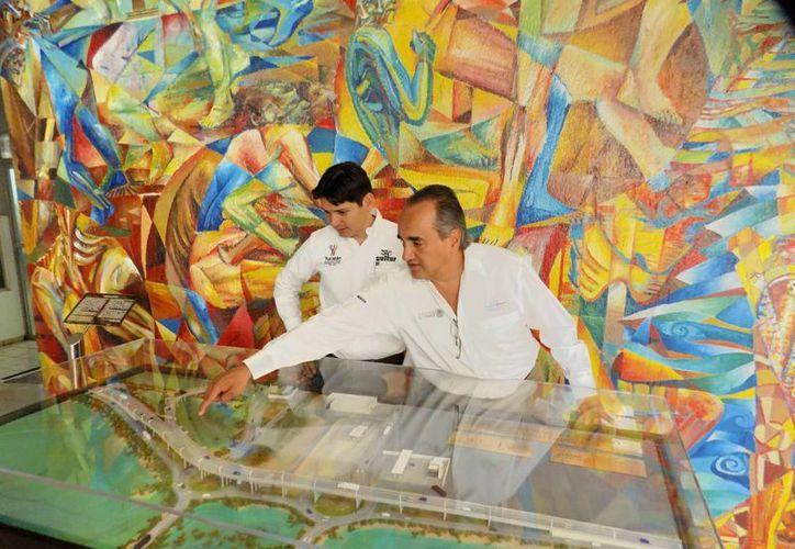 Como parte del acuerdo entre la SCT Yucatán y Cultur  se ofrecen espacios y programas para la recreación turística y cultural del personal.  (Fotos cortesía del Gobierno)
