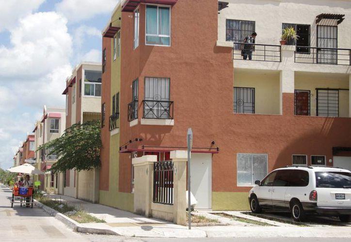 El avance de colocación de viviendas durante las primeras semanas de enero. (Luis Soto/SIPSE)
