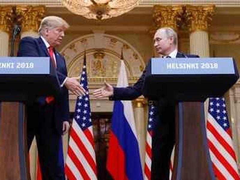 Trump questions US intel, not Putin, on Russia 2016 meddling