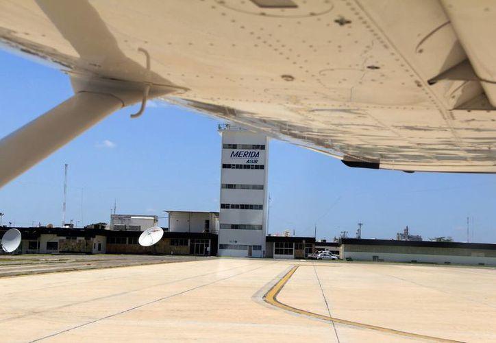 El Aeropuerto Internacional de Mérida tiene amplias posibilidades de crecimiento. (José Acosta/Milenio Novedades)