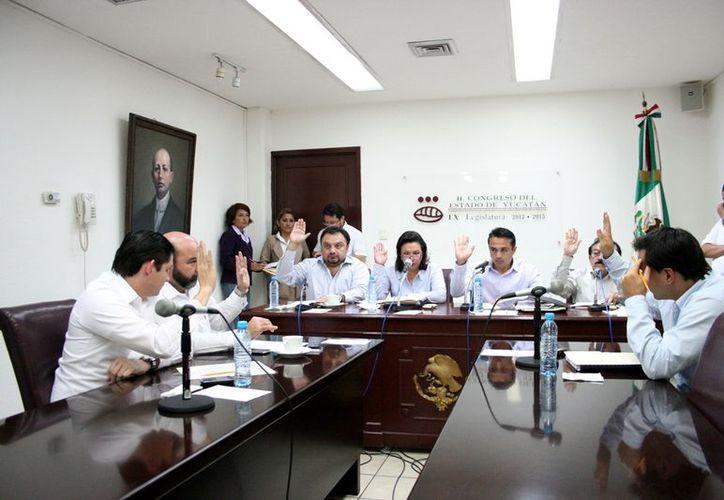 La Comisión de Presupuesto también aprobó un calendario de sesiones. (Milenio Novedades)