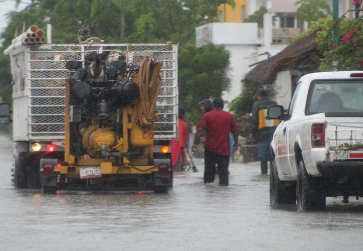 Las autoridades del municipio no bajan la guardia. Aseguran que se encuentran preparados para cualquier fenómeno meteorológico. (María Mauricio/SIPSE)