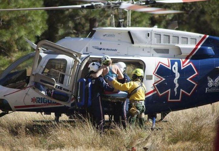 Durante las primeras horas del domingo, dos alpinistas más fueron bajados a la cabecera municipal de Tlachichuca. (Foto: Debate/Imagen ilustrativa)