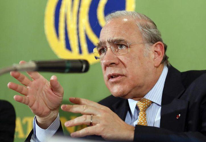 """En EU hasta ahora solo se han producido recortes amplios y """"arbitrarios"""": Gurría. (EFE)"""