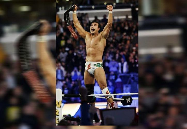 El luchador mexicano Alberto del Río debutaría este domingo en Triplemania XXII. (AP)