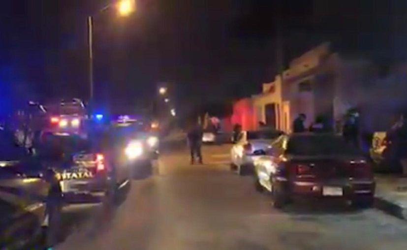 Los hechos ocurrieron en calles de Los Almendros.