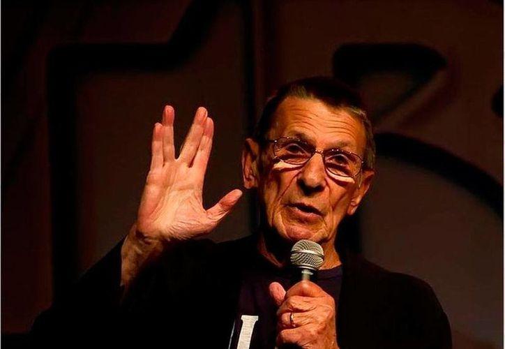 Leonard Nimoy, quien diera vida a Mr Spock, será estrella de un documental que narrará su vida y obra. (es.pinterest.com)