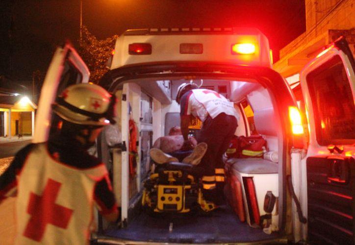 Los hombres tenían lesiones en la cabeza. (Foto: Redacción)