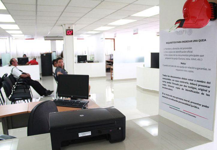 La Profeco recepciona las quejas contra agencias de viajes. (Israel Leal/SIPSE)
