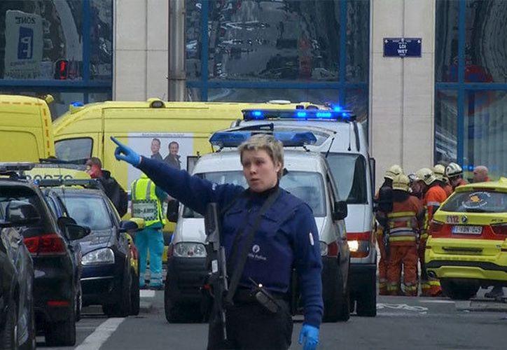La explosión ha obligado a la interrupción de dos líneas de tranvía y una línea de autobús.  (Imagen IlustrativaReuters)