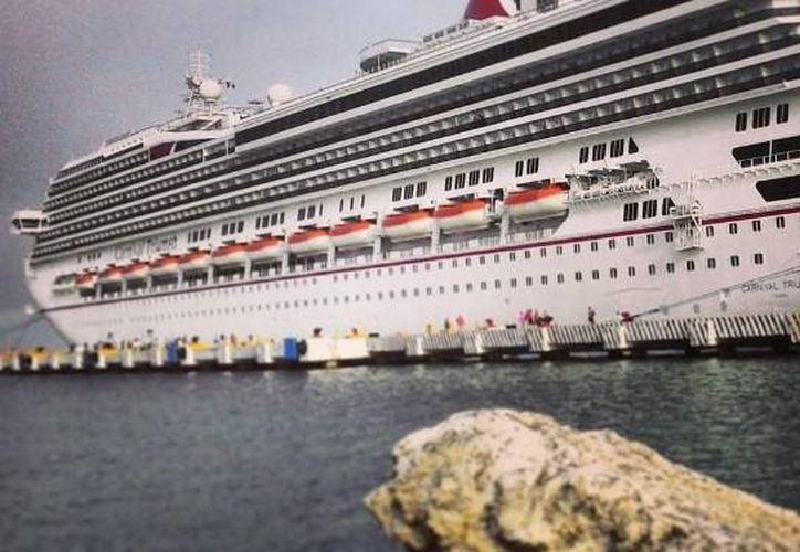 Progreso recibirá dos cruceros en la última semana del año. (Óscar Pérez/SIPSE)