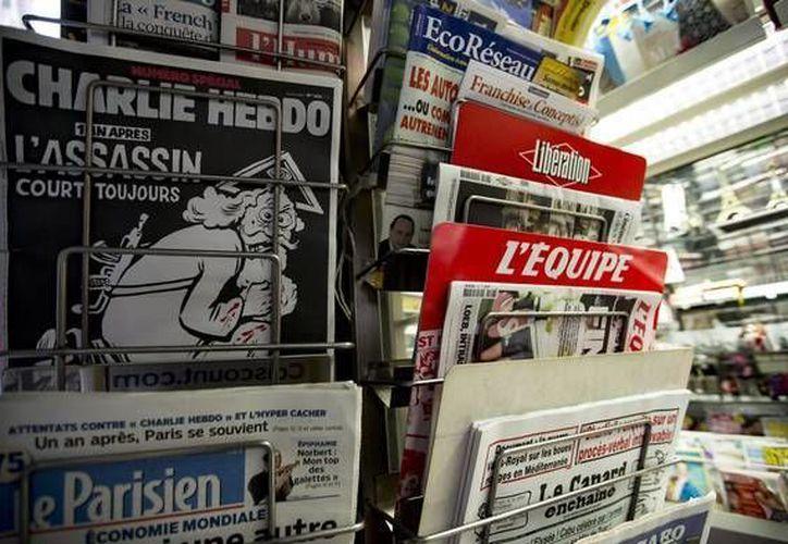 Charlie Hebdo asegura que vía Facebook ha recibido amenazas de atentados. (Ansa Latina)