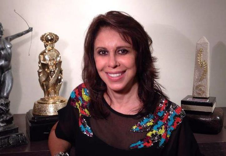 Angelli Nesma dijo que parte del éxito de la telenovela fue por la belleza de Yucatán. (Milenio Novedades)