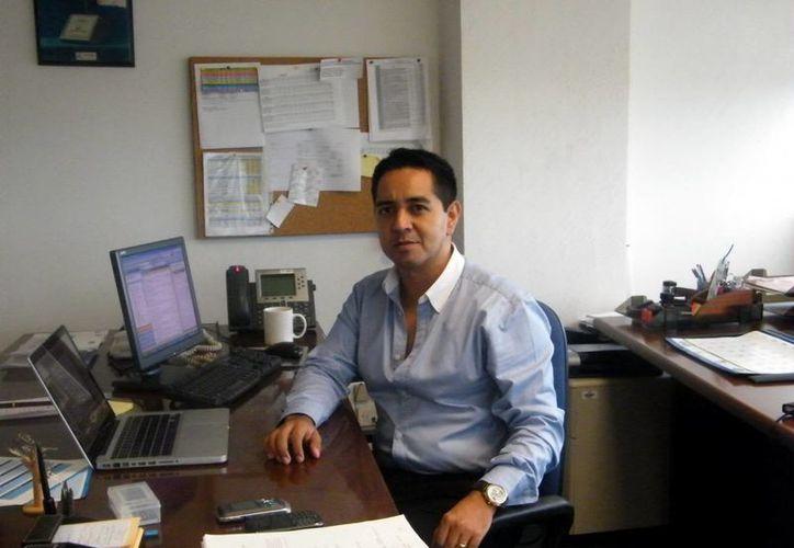 Jesús Vega Herrera: la sanción no debe causar alarma entre los empresarios. (Jaime Tetzpa/SIPSE)