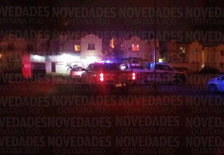 Elementos de Seguridad Pública y de la Policía Ministerial atendieron el reporte. (Redacción)