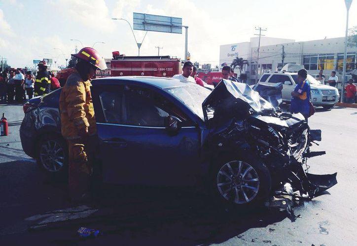 Luego de provocar el fatal accidente, pagó y recuperó su libertad la noche del 31 de diciembre. (Eric Galindo/SIPSE)