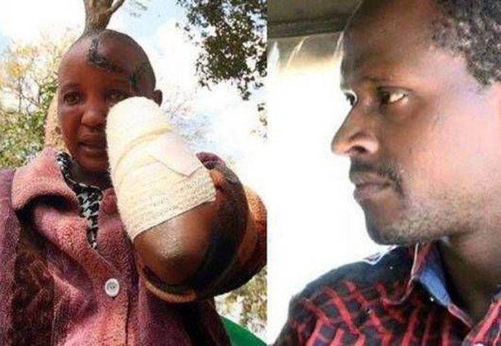 Jackline Mwende Ngila (izq) pidió que encarcelarán de por vida a su esposo Stephen Ngila. (Foto: Muthuri Ungi/Facebook)