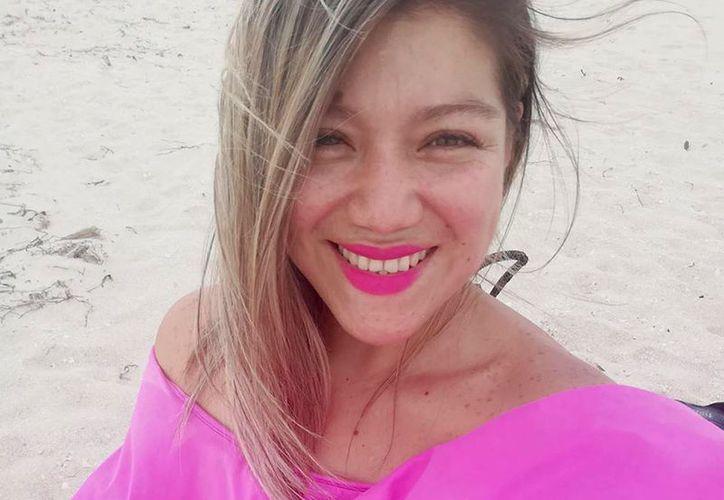 Carolina Balam presenta un cuadro de pielonefritis y neumonía. (Tomada de Facebook)