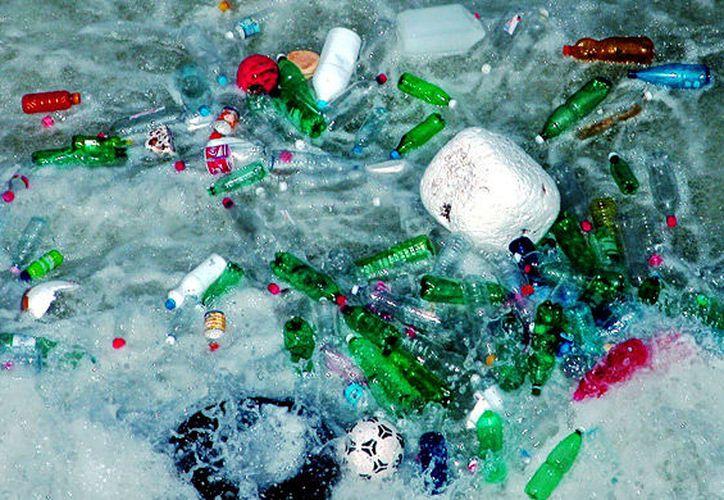 El mar Caribe se encuentra en el segundo mar más contaminado por plástico en el mundo. (Foto: Internet)