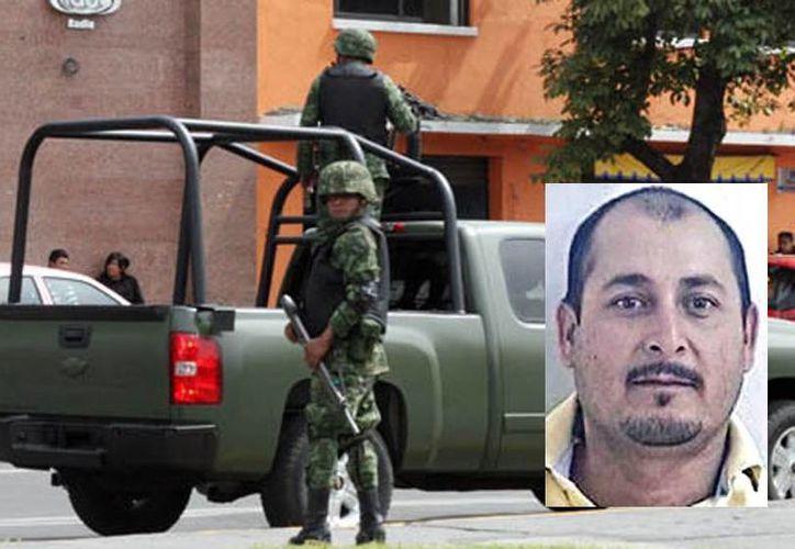 """""""El Güero Abeja"""" fue capturado por el Ejército Mexicano. (Internet)"""