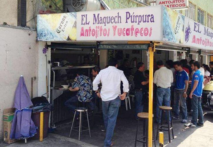 Asesinan y meten dentro de un refrigerador al dueño del restaurante yucateco El Maquech Púrpura de la colonia Narvarte, en la Ciudad de México. (Excelsior)