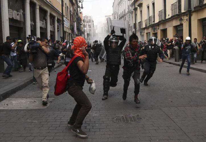 Señalan que las manifestaciones provocan graves pérdidas económicas. (Archivo/Notimex)