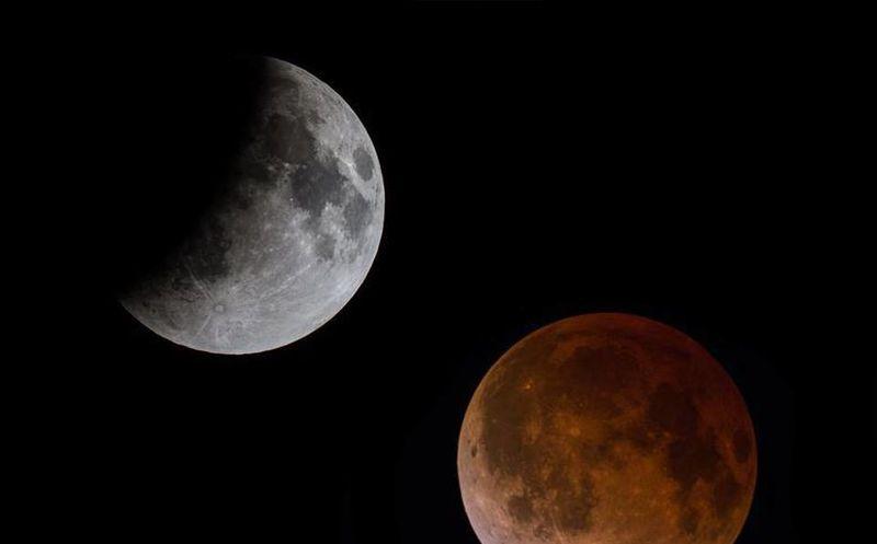 No olvides mirar al cielo y fotografiar la luna de sangre for En q luna estamos hoy