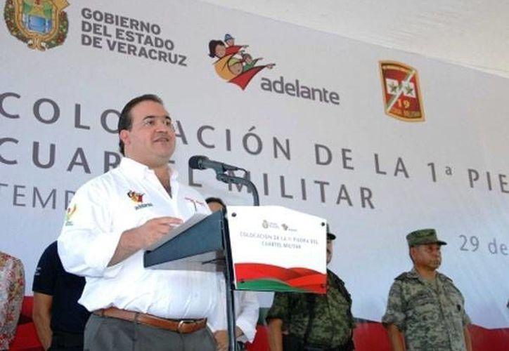 """La detención de policías """"es para devolver a los veracruzanos la calma"""", dijo el gobernador Javier Duarte (Archivo/SIPSE)"""