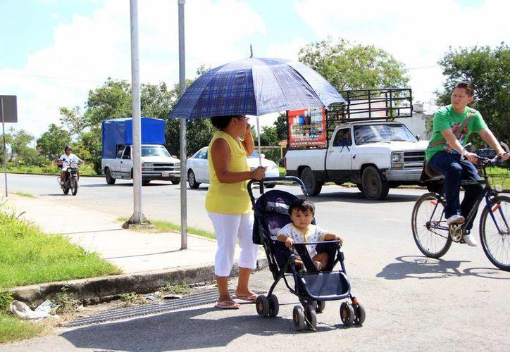 En Mérida se mantienen los cielos despejados. (José Acosta/SIPSE)