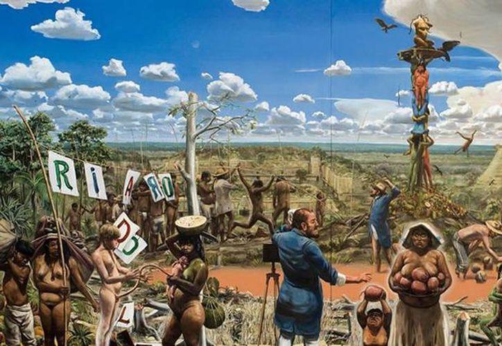 La obra de Daniel Lezama ha llegado prestigiadas galerías de Nueva York y Londres. (daniellezama.net)