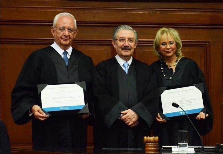 A partir de este 1 de diciembre, los ministros Olga Sánchez Cordero y Juan Silva Meza se retiran. (@SCJN)