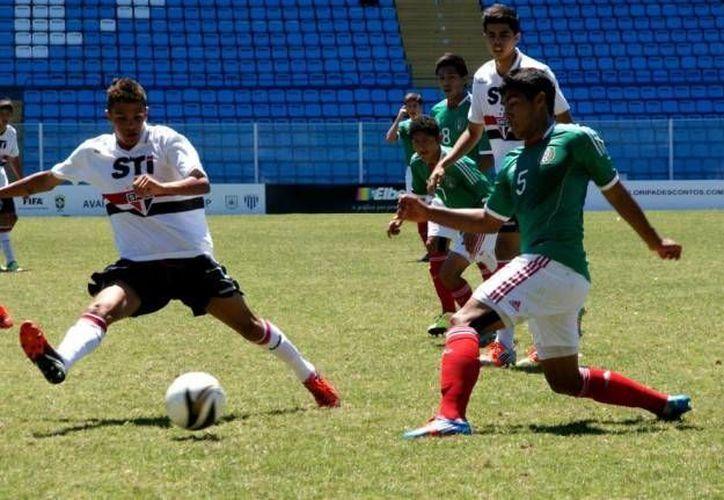 Los mexicanos sólo necesitaron de tres minutos para definir el duelo. (Imagen de referencia/miseleccion.mx)