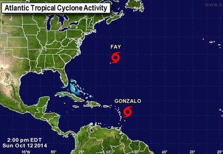 'Gonzalo' podría ascender a huracán categoría 1 antes de tocar Puerto Rico. (nhc.noaa.gov)