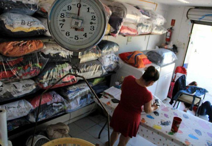 Crece el número de lavanderías debido a la gran demanda del servicio. (Jesús Tijerina/SIPSE)