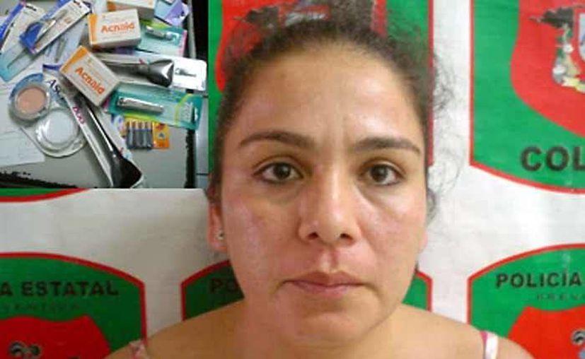 En 2009, la mujer fue detenida tras robar productos de belleza en una tienda Walmart. (Foto: El Sur de Acapulco)