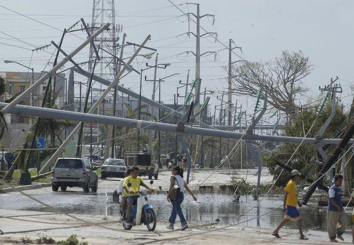 Los recursos del Fonden son para resarcir daños por fenómenos naturales. (Redacción)