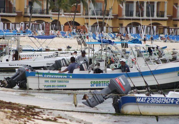 Esperan los prestadores de servicios turísticos que el clima mejore. (Adrián Barreto/SIPSE)