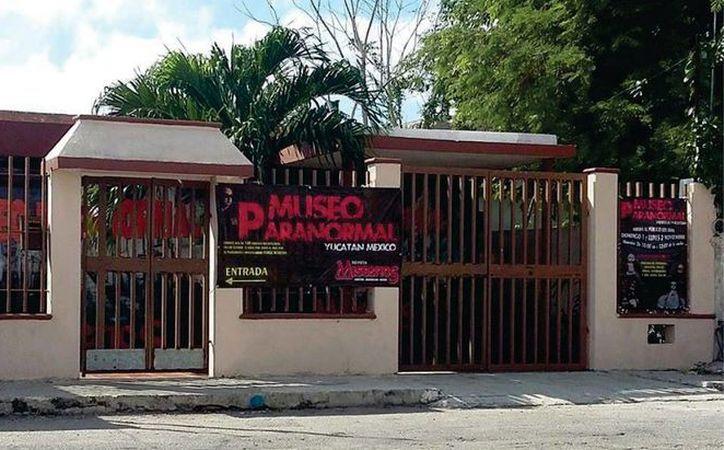 La sede del primer 'Festival de Terror' será el Museo Paranormal de Yucatán, ubicado en la colonia Cortés Sarmiento. (Jorge Moreno/ Facebook)