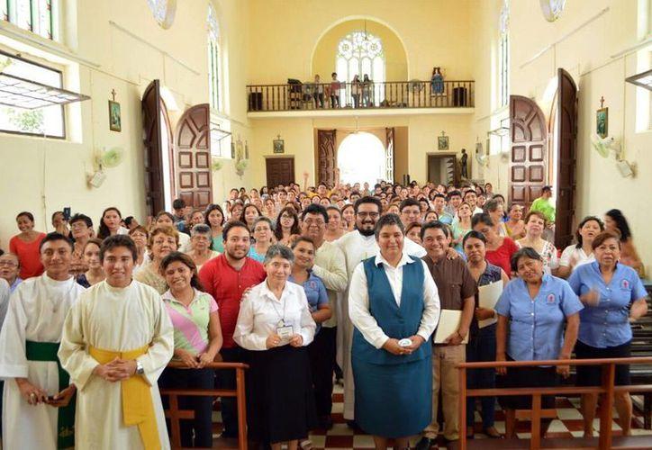 El curso de Catequesis fue clausurado con una misa en la iglesia de San Rafael. (Milenio Novedades)